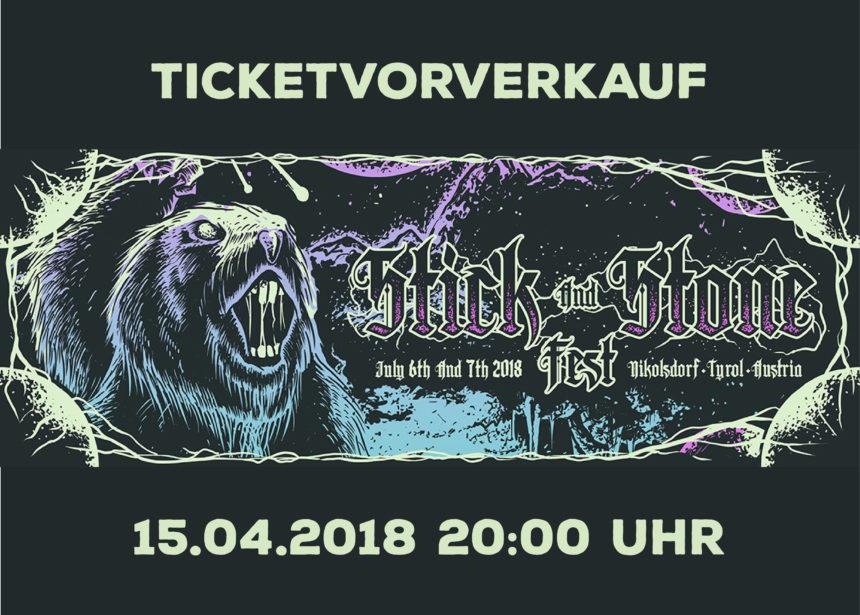 Ticketvorverkauf am Sonntag 15.04.2018!!!
