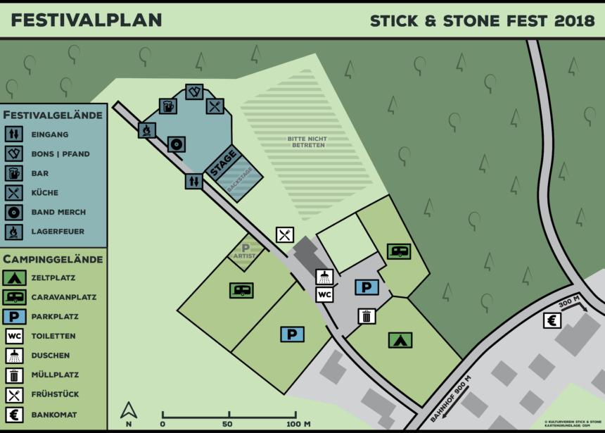 Infos zum Campinggelände